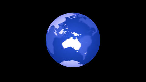 global business universe world globe earth virtual planet Animation