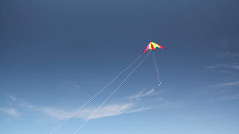 Kite soaring 3 Stock Video Footage