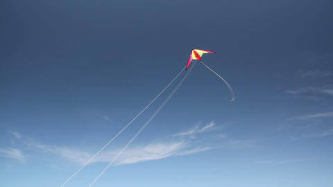 Kite soaring 3 Footage