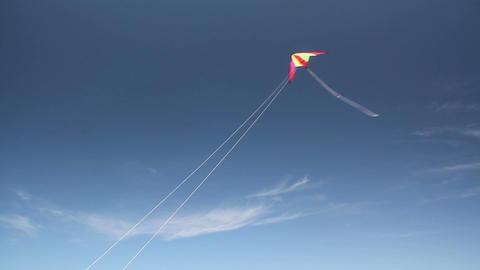 Kite soaring 3 Stock Video Footage
