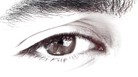 hunk male Handsome Man Eye eyes looking see Footage