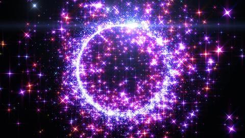 Particles Glitter 3d B 2 4k CG動画素材
