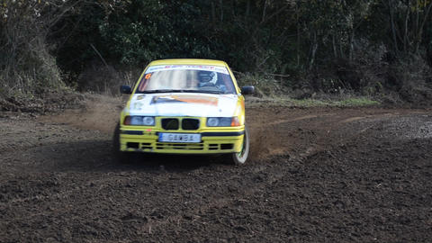 Rally Car Championship Footage