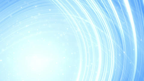 light blue curved lines abstract loopable backgrou Animation