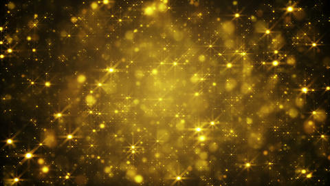 glittering golden dust loopable festive background Animation