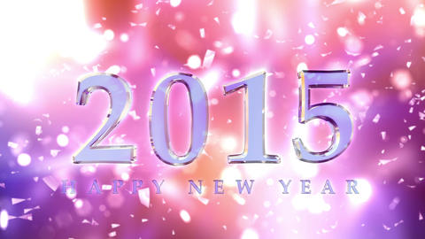 New Year 2014 Countdown Animation stock footage