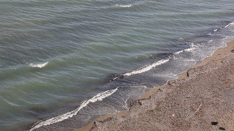 Sand Beach In Zakynthos, Greece stock footage