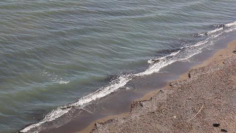 Sand beach in Zakynthos, Greece Stock Video Footage