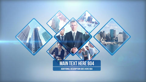 Clean And Simple Corporate After Effects Template
