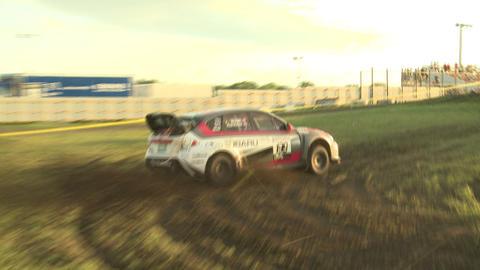 Travis Pastrana Rally Racing stock footage