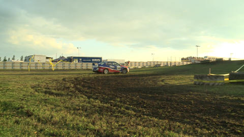Rally Car Races By Live Action