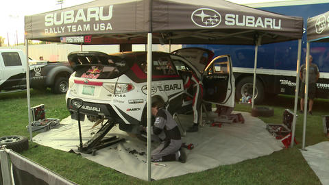 Travis Pastrana Rally Car Footage