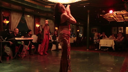 Egyptian Belly Dance stock footage