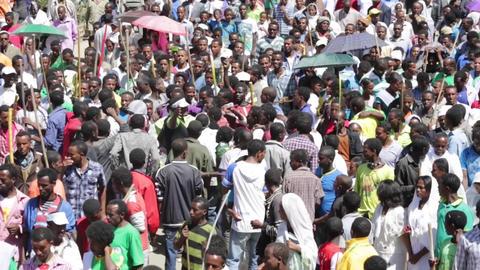 2014 Timket Celebrations in Ethiopia Live Action