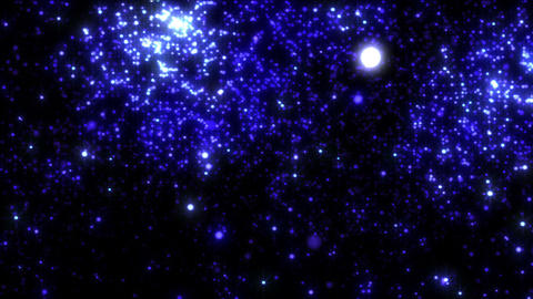 LED Light Space 5 B 11 4k Animation