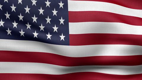 usa flag HD Animation