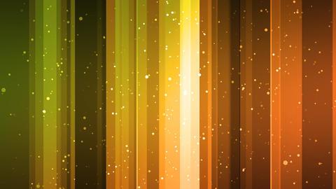 Golden Slide Particles Animation