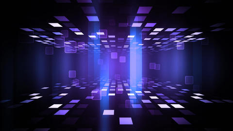 Night Club Dance Floor, Stock Animation