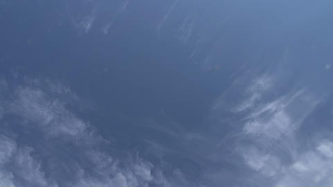 View Of The Sky From The Water stock footage