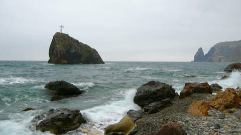 Marine, rocky seashore Live Action