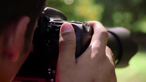4of 6 Man, photographer, photography, digital camera Footage