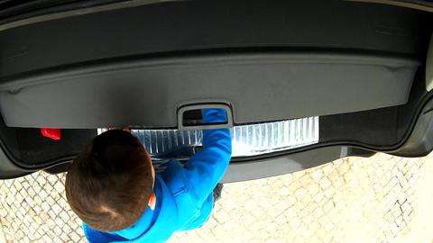 Kid Car Back Door Live Action