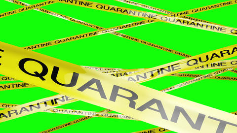 Quarantine Signs 2 Greenscreen Animation