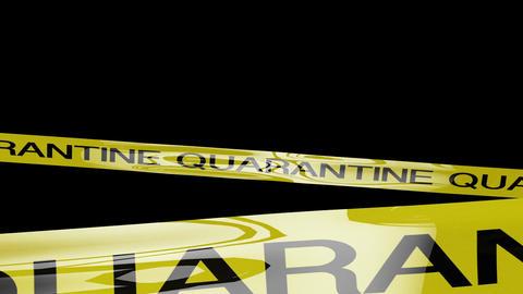 Quarantine Signs 1 Matte Animation