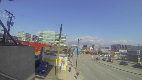 wide view vancouver city centre - bc place Footage