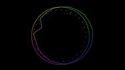 audio Spectrum 003 CG動画