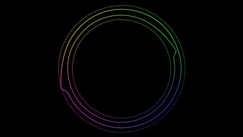 audio Spectrum 004 CG動画