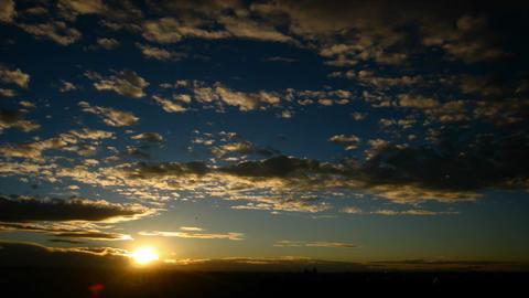 Sunrise Clouds Timelapse Footage