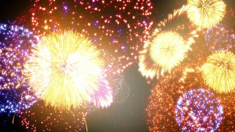 Fireworks Festival 2 Em 1 4k Animation