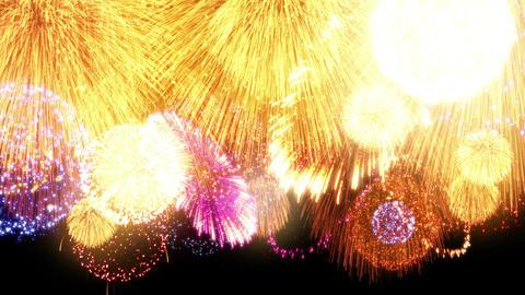 Fireworks Festival 2 En 1p 4k stock footage