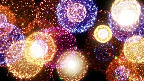 Fireworks Festival 2 En 2s 4k Animation