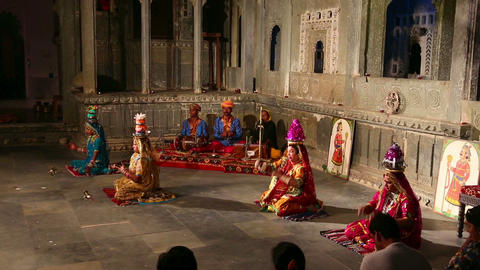 Indian Traditional Dances Footage