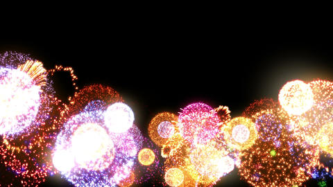 Fireworks Festival 2 Hn 1p 4k Animation