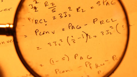 MathematicalBackground stock footage