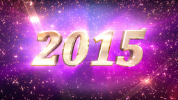 2015 New Year Countdown Animation Animation