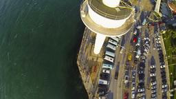 Vessel traffic radar tower at Uskudar Footage