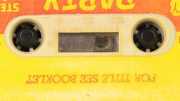 Grunge Audio Cassette stock footage