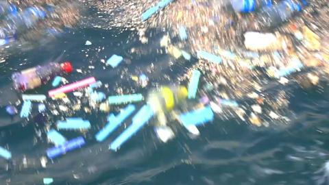 Styrofoam Garbage stock footage