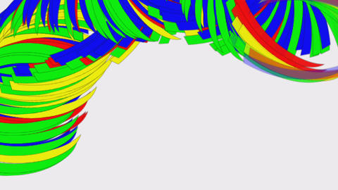 Swirling Curves Animation