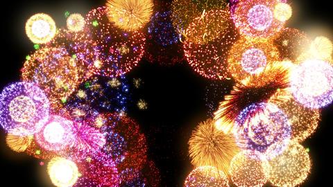 Fireworks Festival 2 Round 2 4k CG動画