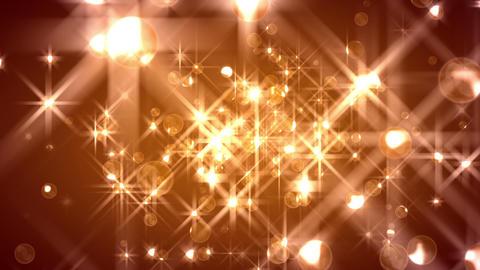 FlOrbs - Glamorous Christmas Background Loop Stock Video Footage