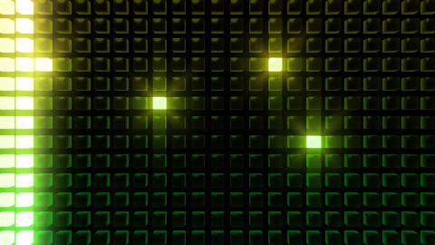 LED Back B WL HD Stock Video Footage