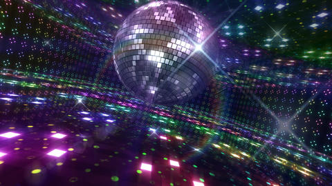 Disco Floor B2Bs HD Stock Video Footage