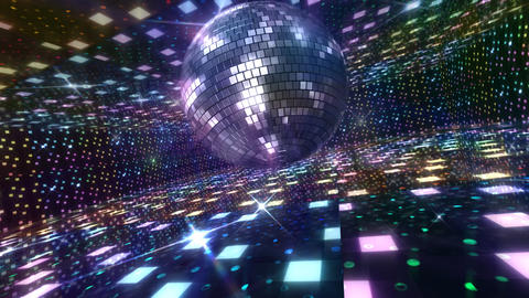 Disco Floor B2Bs HD Stock Video Footage