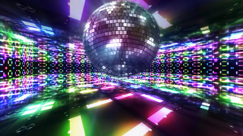 Disco Floor C1Bs HD Animation