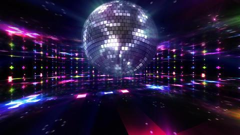 Disco Floor C1Bs HD Stock Video Footage